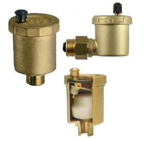 Odvzdušňovací ventily