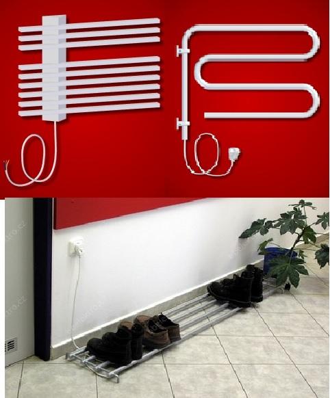 Skleněné elektrické radiátory