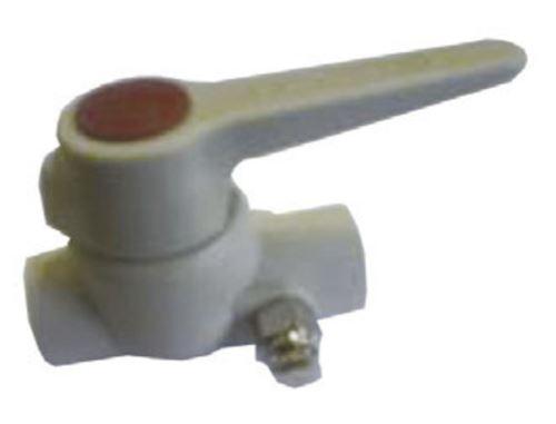 PPR plastový kulový kohout s vypouštěním průměr 63x63mm