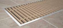 Krycí mřížka KORAFLEX PM mahagonová 20x80 cm
