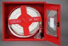 Hydrantová skříň prosklená DN 25 BI návin 20 m - Bílá, Ral 9003 - komplet