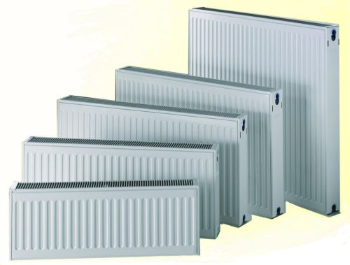 Deskový radiátor DELTA Klasik 33/400/400 max. výkon 867 W