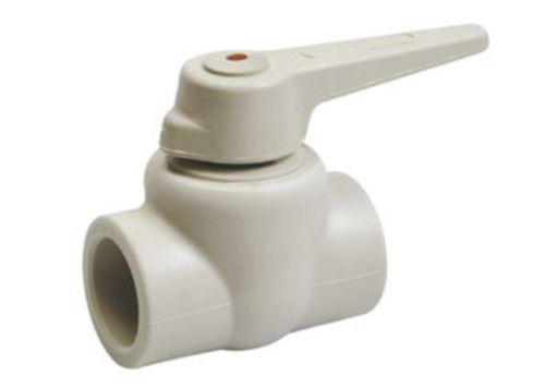 PPR plastový kulový kohout průměr 20x20mm