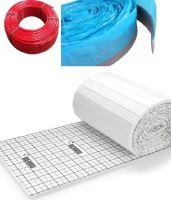 Balíček kompletního systému podlahového vytápění HERZ PERT TAC pro plochu 110 m2