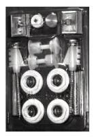 LIPOVICA SMOB montážní set pro radiátory ORION, SOLAR