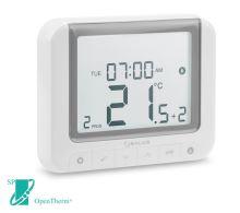 Prostorový digitální programovatelný termostat SALUS RT520 týdenní, kabelový