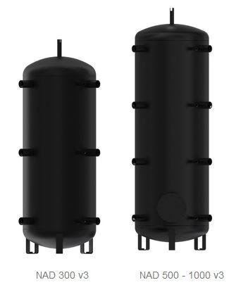 Akumulační nádrž bez vnitřního zásobníku Dražice NAD 750 v3 - bez izolace