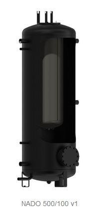Akumulační nádrž s vnitřním zásob. Dražice NADO 750/140 v1-bez izolace