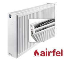 Deskový radiátor AIRFEL VK 33/300/1400 (spodní připojení, univerzální - pravé, levé) maximální výkon 2446 Wattů