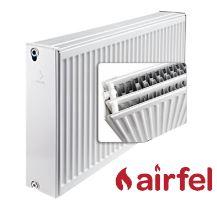 Deskový radiátor AIRFEL VK 33/400/400 (spodní připojení, univerzální - pravé, levé) maximální výkon 867 Wattů