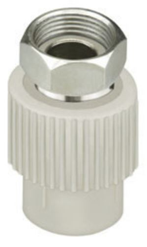 PPR DG přechodka s převlečnou matkou průměr 20mm x3/4