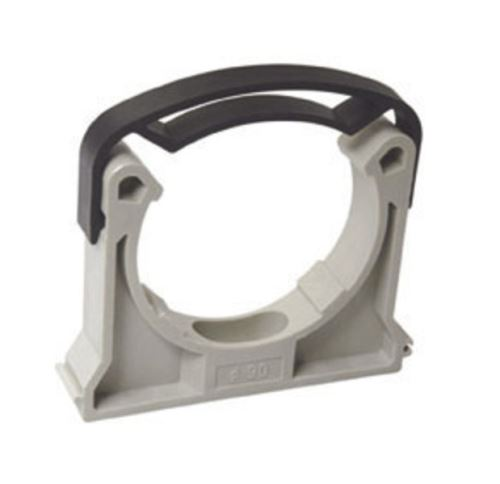 PPR příchytka se sponou průměr 40mm