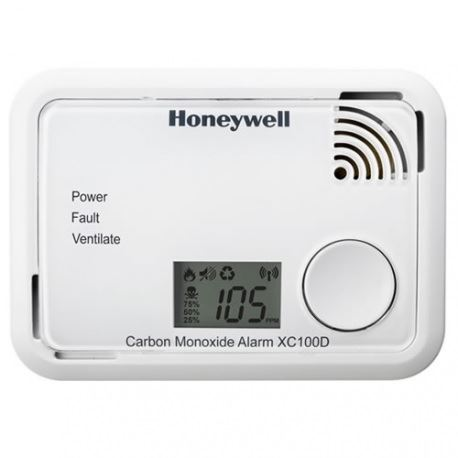 Detektor úniku CO, HONEYWELL XC100D - CS, s displejem