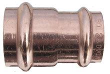 CU nátrubek redukovaný F-F průměr 22x15 mm