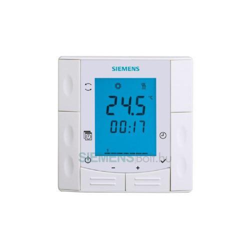 Prostorový termostat SIEMENS RDE 410/EH č. 1440, týdenní - pro elektrokotle
