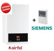 Kondenzační kombinovaný kotel AIRFEL PREMIX 24 CD, model 2018, 3,7-24,8 kW