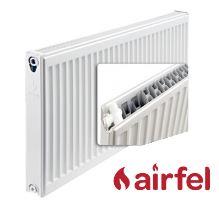 Deskový radiátor AIRFEL VK 22/400/400 (spodní připojení, univerzální - pravé, levé) maximální výkon 626 Wattů