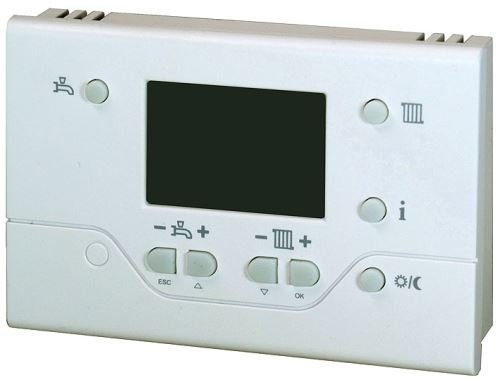Prostorový termostat SIEMENS QAA 73.210 týdenní - opentherm