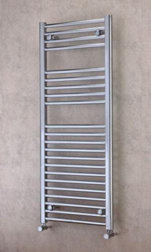 Koupelnový radiátor BXIT 1130/450 nerez, prohlý max. výkon 350 W