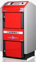 Zplyňovací kotel na dřevo ocelový ATMOS DC 25 GS, výkon 25 Kw s el. regulací ACD 01