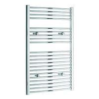 Koupelnový radiátor BXCT 1480/600 chrom, prohlý max. výkon 583 W