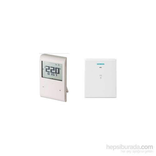 Prostorový termostat SIEMENS RDE 100.1 RFS č. 1425 týdenní - bezdrátový