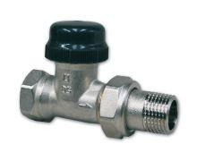 """Termostatický radiátorový ventil IVAR VD 2101 N 3/4"""", přímý"""