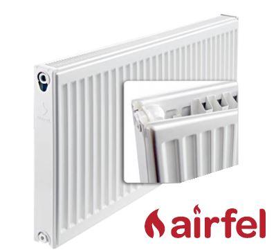 Deskový radiátor AIRFEL VK 21/600/1200 (spodní připojení, univerzální - pravé, levé) maximální výkon 1996 Wattů