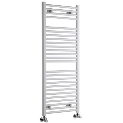 Koupelnový radiátor KDO 730/450 bílý, prohlý max. výkon 450 W