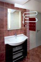 Elektrický sušák ručníků S60K 620 x 520 x 530, bílý, výkon 60 W
