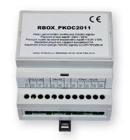 R-Box - modul galvanického oddělení signálu, připraveno pro instalaci na DIN lištu