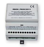R-BOX - modul galvanického oddělení signálu, připraveno pro instalai na DIN lištu