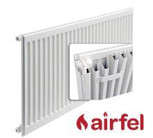 Deskový radiátor AIRFEL Klasik s bočním připojením 11/400/1000 maximální výkon 790 Wattů