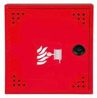 Hydrantová skříň DN 19 návin 20 m - červená Ral 3002 - komplet